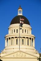 California State Capitol Building Sacramento CA Fine Art Print