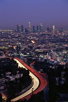 "Hollywood Freeway Los Angeles CA by Panoramic Images - 24"" x 36"", FulcrumGallery.com brand"