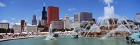"""Summer, Chicago, Illinois, USA by Panoramic Images - 36"""" x 12"""""""