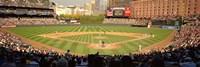 "Camden Yards Baseball Game Baltimore Maryland by Panoramic Images - 36"" x 12"""