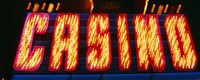"""Casino Sign Las Vegas NV by Panoramic Images - 36"""" x 12"""""""