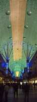 """Fremont Street Las Vegas NV by Panoramic Images - 12"""" x 36"""""""