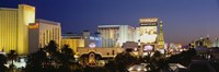 "Las Vegas at dusk, Nevada by Panoramic Images - 36"" x 12"" - $34.99"