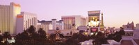 """Dusk Las Vegas NV by Panoramic Images - 36"""" x 12"""""""