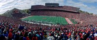 University Of Wisconsin Football Game, Camp Randall Stadium, Madison, Wisconsin, USA Fine Art Print