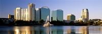 Orlando skyline, Florida Fine Art Print