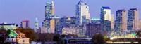 "Philadelphia Pennsylvania USA by Panoramic Images - 36"" x 12"", FulcrumGallery.com brand"