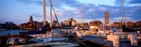 """Boats in Buffalo, New York by Panoramic Images - 36"""" x 12"""" - $34.99"""