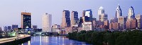 "Skyline View of Downtown Philadelphia by Panoramic Images - 36"" x 12"" - $34.99"