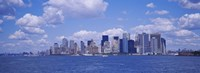 "Skyscrapers on the waterfront, Manhattan by Panoramic Images - 36"" x 12"", FulcrumGallery.com brand"
