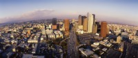 """USA, California, Los Angeles, Financial District by Panoramic Images - 36"""" x 12"""" - $34.99"""
