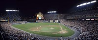 """Baseball Game Camden Yards Baltimore MD by Panoramic Images - 36"""" x 16"""""""