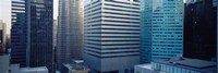 """Close up of skyscrapers in Manhattan, New York City, New York State, USA by Panoramic Images - 36"""" x 12"""""""
