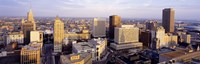 """High angle view of a cityscape, Buffalo, New York State, USA by Panoramic Images - 36"""" x 12"""", FulcrumGallery.com brand"""