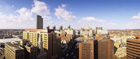 """High angle view of a city, Albany, New York State, USA by Panoramic Images - 36"""" x 12"""""""