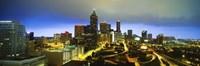 "Evening Atlanta GA by Panoramic Images - 36"" x 12"", FulcrumGallery.com brand"