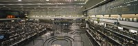 "Empty mercantile exchange, Chicago Mercantile Exchange, Chicago, Illinois, USA by Panoramic Images - 36"" x 12"""