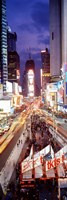High Angle view of Times Square, NYC Fine Art Print