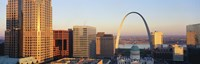 """St. Louis skyline by Panoramic Images - 36"""" x 12"""", FulcrumGallery.com brand"""