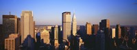 """Afternoon Midtown Manhattan New York NY by Panoramic Images - 36"""" x 12"""""""