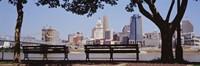 View of Cincinnati OH Fine Art Print