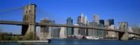 "USA, New York, Brooklyn Bridge by Panoramic Images - 36"" x 12"""