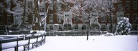 "Washington Square Park in the snow, Manhattan by Panoramic Images - 36"" x 12"""
