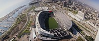 """Soldier Field, Chicago, Illinois by Panoramic Images - 36"""" x 15"""""""