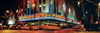 """Manhattan, Radio City Music Hall, NYC, New York City, New York State, USA by Panoramic Images - 36"""" x 12"""", FulcrumGallery.com brand"""