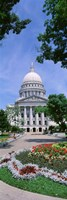 USA, Wisconsin, Madison, State Capital Building Fine Art Print