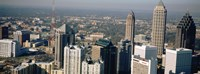 Skyscrapers in Atlanta, Georgia, USA Fine Art Print