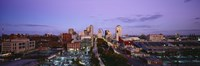 """St. Louis, Missouri at Dusk by Panoramic Images - 36"""" x 12"""", FulcrumGallery.com brand"""