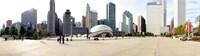 Buildings in a city, Millennium Park, Chicago, Illinois, USA Fine Art Print