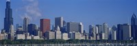 Chicago Skyscrapers, Illinois by Panoramic Images - various sizes