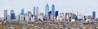 "Philadelphia skyline, Pennsylvania, USA by Panoramic Images - 36"" x 12"", FulcrumGallery.com brand"