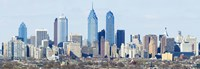 "Skyscrapers in Philadelphia, Pennsylvania, USA by Panoramic Images - 36"" x 12"", FulcrumGallery.com brand"
