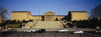 "Facade of an art museum, Philadelphia Museum Of Art, Philadelphia, Pennsylvania, USA by Panoramic Images - 36"" x 12"" - $34.99"