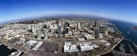 "Aerial view of a city, San Diego, California, USA by Panoramic Images - 36"" x 12"""
