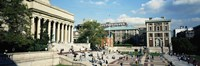 Group of people in front of a library, Library Of Columbia University, New York City, New York, USA by Panoramic Images - various sizes