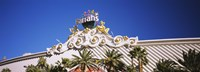 "Low angle view of a building, Harrah's Hotel, Las Vegas, Nevada, USA by Panoramic Images - 36"" x 12"""