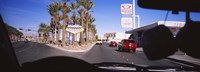 "Traffic entering downtown, Las Vegas, Nevada, USA by Panoramic Images - 36"" x 12"""