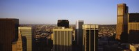 """Skyscrapers in a city, Denver, Colorado, USA by Panoramic Images - 36"""" x 12"""", FulcrumGallery.com brand"""