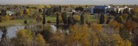 """High angle view of trees, Denver, Colorado, USA by Panoramic Images - 36"""" x 12"""""""
