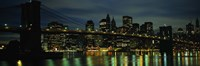 Brooklyn Bridge at Night, New York City by Panoramic Images - various sizes