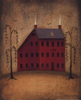 American Saltbox I Fine Art Print