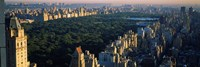 "Central Park and Manhattan, New York City by Panoramic Images - 36"" x 12"" - $34.99"