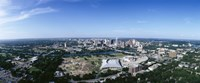 Aerial view of a city, Austin, Travis County, Texas Fine Art Print