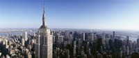 """Empire State Building, New York City, New York State, USA by Panoramic Images - 36"""" x 12"""""""