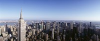 """Empire State Building, Manhattan, New York City, New York State, USA by Panoramic Images - 36"""" x 12"""""""