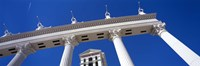 """Low angle view of a hotel, Caesars Palace, The Las Vegas Strip, Las Vegas, Nevada, USA by Panoramic Images - 36"""" x 12"""""""